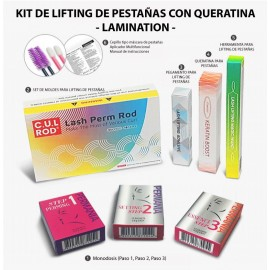 KIT LIFTING DE PESTAÑAS CON QUERATINA