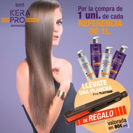 KIT KERAPRO 1000ML CON PLANCHA FHI DE REGALO