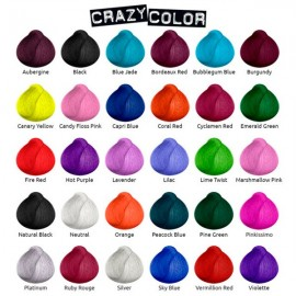 Crazy Color Tintes Fantasia Semipermanentes